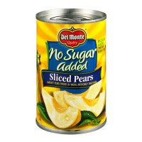 Del Monte Pears Sliced No Sugar Added