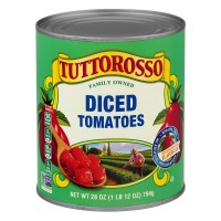 Tuttorosso Tomatoes Diced in Tomato Juice 100% Natural