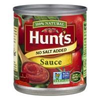 Hunt's Tomato Sauce No Salt Added 100% Natural