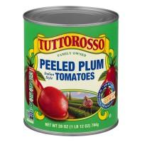 Tuttorosso Tomatoes Plum Peeled in Tomato Juice 100% Natural