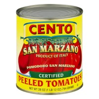Cento Tomatoes San Marzano Peeled with Basil Leaf