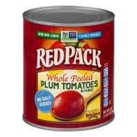 Redpack Tomatoes Plum Whole Peeled in Puree