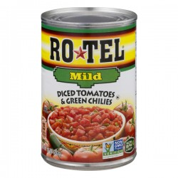 Ro-Tel Tomatoes Diced & Green Chilies Mild