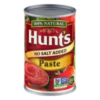Hunt's Tomato Paste No Salt Added 100% Natural