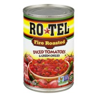Ro-Tel Tomatoes Diced & Green Chilies Fire Roasted