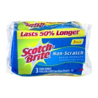 Scotch-Brite Scrub Sponges Non Scratch