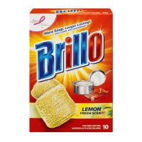 Brillo Steel Wool Soap Pads Lemon Fresh