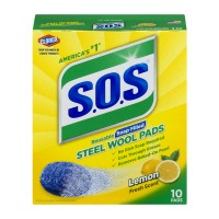 S.O.S. Soap Pads Steel Wool Lemon Fresh