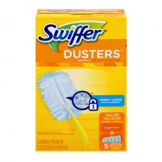 Swiffer Dusters Kit (1 Handle & 5 Dusters Unscented)