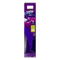 Swiffer WetJet Mopping Starter Kit (1 Mop, 2 Pads, 1 Solution)