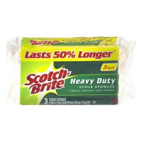 Scotch-Brite Scrub Sponge Heavy Duty