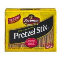 Bachman Pretzel Stix 100 Calorie Snack Trays All Natural - 6 pk