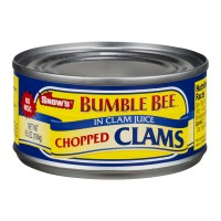 Snow's Clams Chopped in Clam Juice