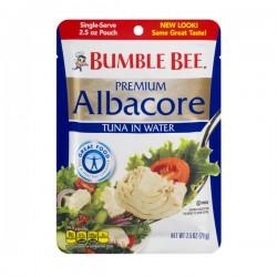 Bumble Bee Premium Albacore Tuna Pouch in Water