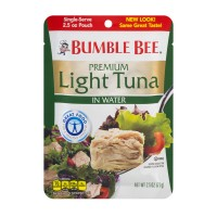 Bumble Bee Premium Light Tuna Pouch in Water