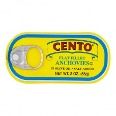 Cento Anchovy Fillets Flat in Olive Oil