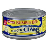 Snow's Bumble Bee Clams Minced in Clam Juice