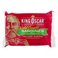 King Oscar Sardines in Extra Virgin Olive Oil Wild-Caught