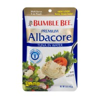 Bumble Bee Premium Albacore Tuna Pouch in Water