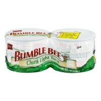 Bumble Bee Chunk Light Tuna in Water - 4 pk