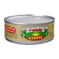 Genova Solid Light Yellowfin Tuna in Olive Oil