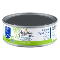 Nature's Promise Free from Chunk Light Tuna in Water
