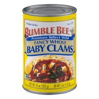 Bumble Bee Premium Clams Baby Fancy Whole Select Wild