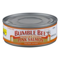Bumble Bee Salmon Pink in Water Skinless & Boneles