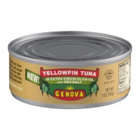 Genova Yellowfin Tuna in Extra Virgin Olive Oil with Sea Slt