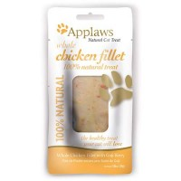 Applaws Whole Chicken with Goji Berry Loin Cat Treat, 1.06 oz