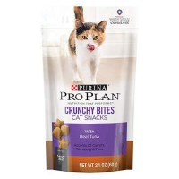 Purina Pro Plan Crunchy Bites Cat Snacks with Real Tuna 2.1 oz. Pouch