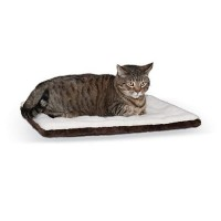 "K&H Oatmeal and Chocolate Self Warming Pet Pad, 21"" L x 17"" W"