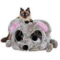 "Trixie Lukas Cuddly Cat Cave, 12.75"" H"