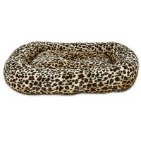 "Harmony Rectangle Cat Bed in Cheetah, 19"" L x 16"" W"