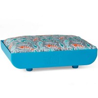 "Kitty Kasas Penthaus Blue Bed for Cat, 15.5"" L X 12"" W"