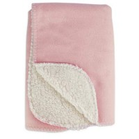 "Harmony Cozy Sherpa Pet Throw in Pink, 24"" x 24"""