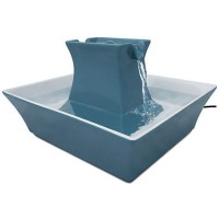 PetSafe Drinkwell Blue Pagoda Fountain, 70 oz.