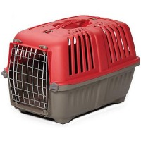 "Spree Plastic Carrier, Red 22"" L X 14"" W X 14"" H"