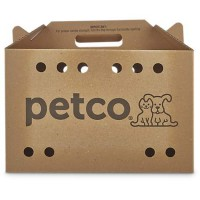 "Petco Cardboard Cat Carrier, 18.5"" x 9"" x 12"""