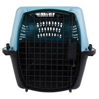 "Petmate 2-Door Top Load Kennel, Blue, 24"" L X 16.8"" W X 14.5"" H"