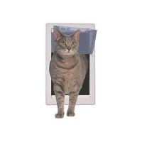 Perfect Pet Soft Flap Cat Door, 7IN x 2.125IN x 14.875IN