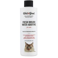 Well & Good Fresh Breath Water Additive for Cats, 8 fl. oz.
