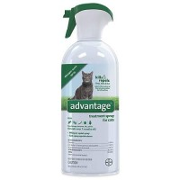 Advantage Flea & Tick Treatment Spray for Cats, 8 fl. oz.