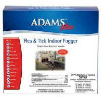 Adams Plus Flea & Tick Indoor Fogger, 3 Pack