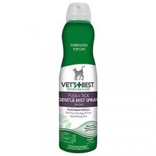 Vet's Best Flea & Tick Gentle Mist Spray for Cats, 6.3 oz