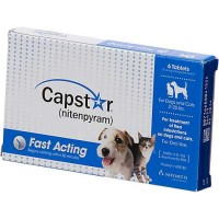 Capstar Flea Tablets for Dogs and Cats, 2-25 lbs.