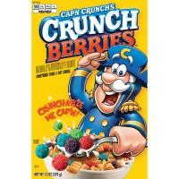 Quaker Cap'n Crunch Crunchberries Sweetened Corn & Oat Cereal
