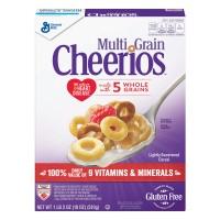 General Mills Multigrain Cheerios Cereal Gluten Free