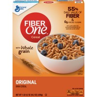 General Mills Fiber One Cereal Bran With Whole Grain