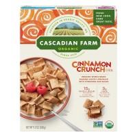Cascadian Farm Cereal Cinnamon Crunch Non-GMO Organic